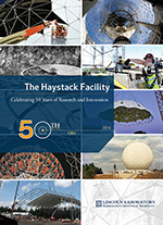 Cover of Haystack commemorative booklet