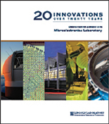 Cover image of 20 innovations booklet